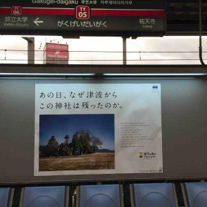 鎮守の森のプロジェクトACポスターを発見!
