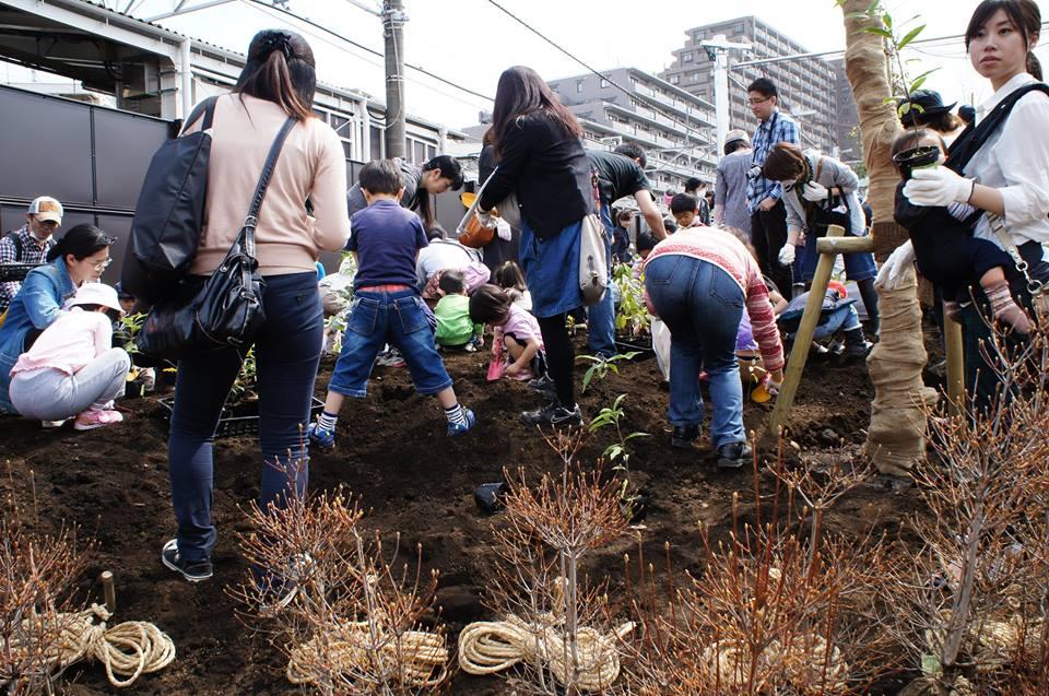 豊島区植樹祭