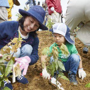 WEB更新のお知らせ「千年希望の丘植樹祭2017」