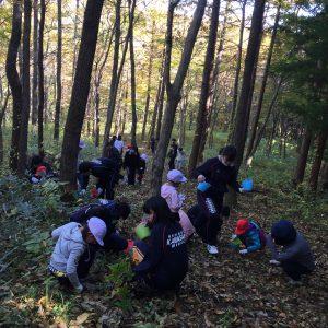 柴田農林高等学校と川崎第二小学校の合同フィールドワーク