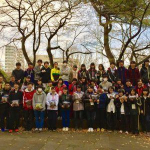 埼玉県立所沢西高校による採種ツアー
