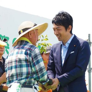 津波防災に役立つ「千年希望の丘」植樹祭(第2回)