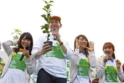 南相馬市鎮魂復興市民植樹祭2013