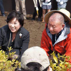 東京都豊島区の「いのちを守る森」づくりを紹介します。