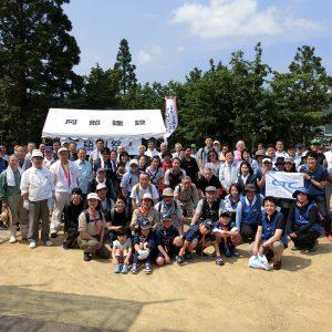 宮城県女川町・白山神社 鎮守の森の植樹祭を開催しました