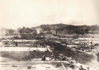 岩手県山田町田の浜(1933年津波被害)