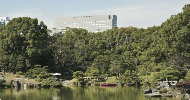 深川岩崎邸の火災から2万人の避難者を守った樹木(現在の清澄公園)