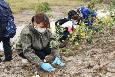 宮城県岩沼市千年希望の丘植樹祭2020